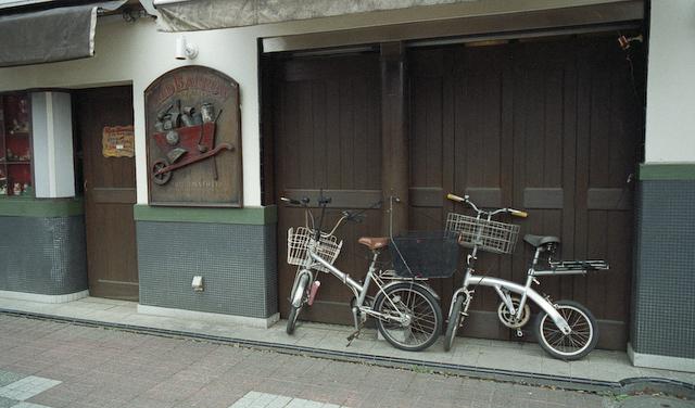 自転車 × アグファ